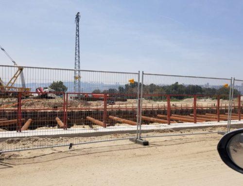 גדר זמנית – לעבודות בנייה ותשתית