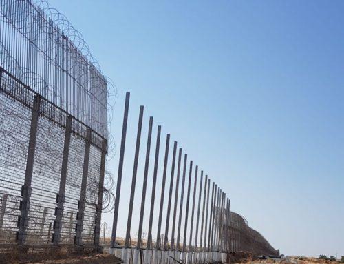 אחרי חורף גשום במיוחד, שיקום גדר גבול מצרים