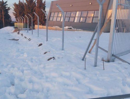 שלג מעכב עבודות ברמת הגולן