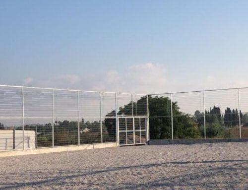 גדר ספורט גובה 4 מטר